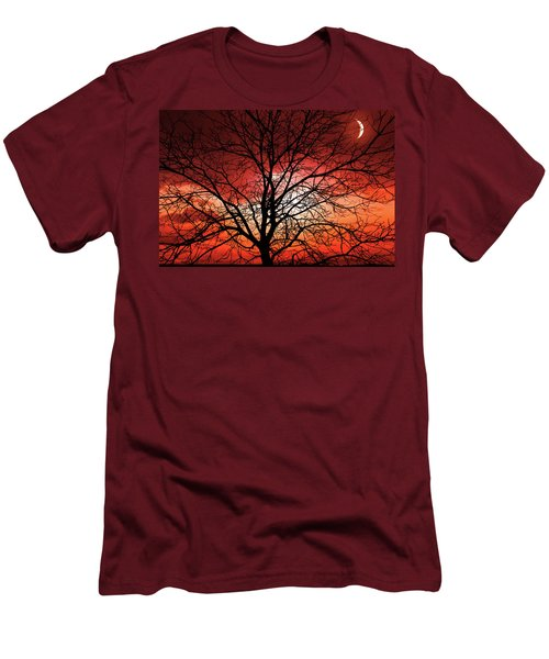 Big Bad Moon Men's T-Shirt (Athletic Fit)