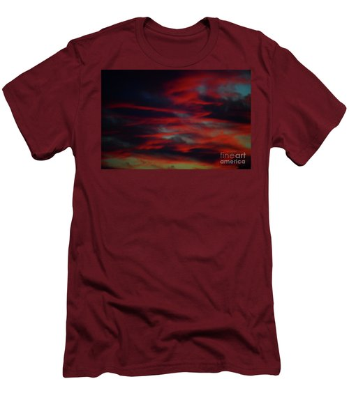 Bleed Men's T-Shirt (Athletic Fit)