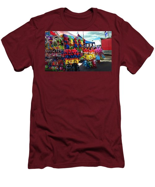 Men's T-Shirt (Slim Fit) featuring the photograph Blowed Up by Steve Sperry