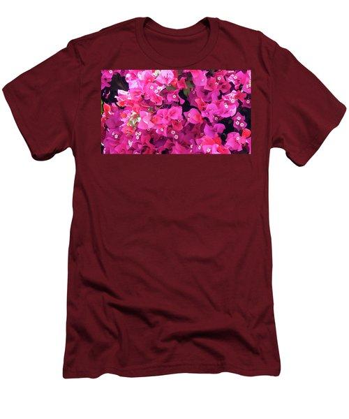 Bougainvillea Men's T-Shirt (Athletic Fit)