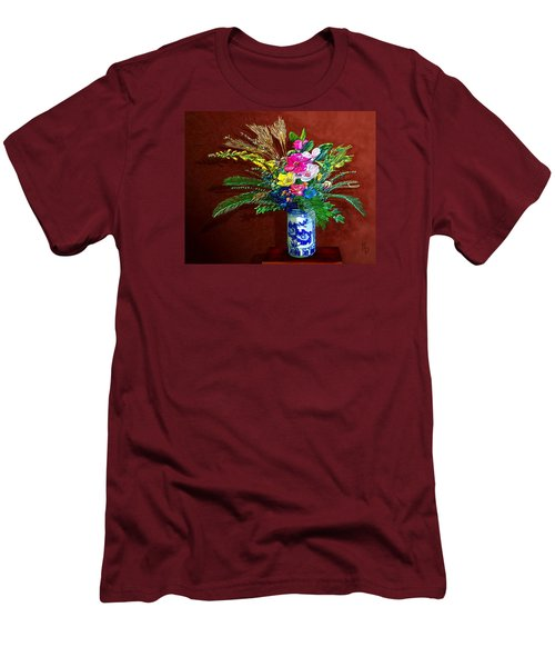 Bouquet Magnifique Men's T-Shirt (Slim Fit) by Ric Darrell