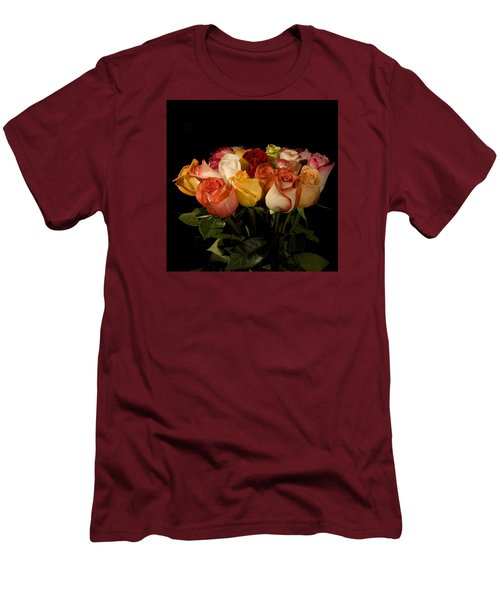 Bouquets Men's T-Shirt (Athletic Fit)