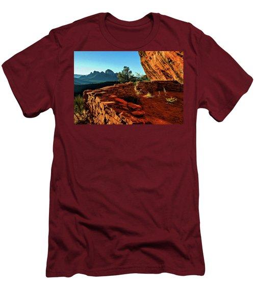 Boynton II 04-008 Men's T-Shirt (Slim Fit) by Scott McAllister