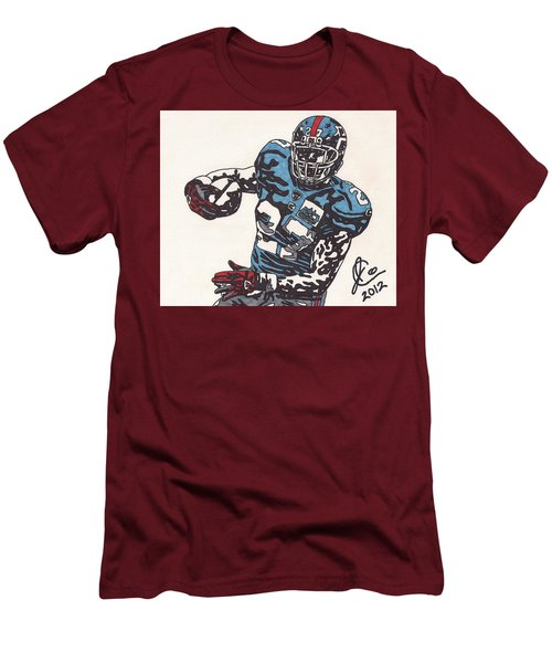 Brandon Jacobs 1 Men's T-Shirt (Athletic Fit)
