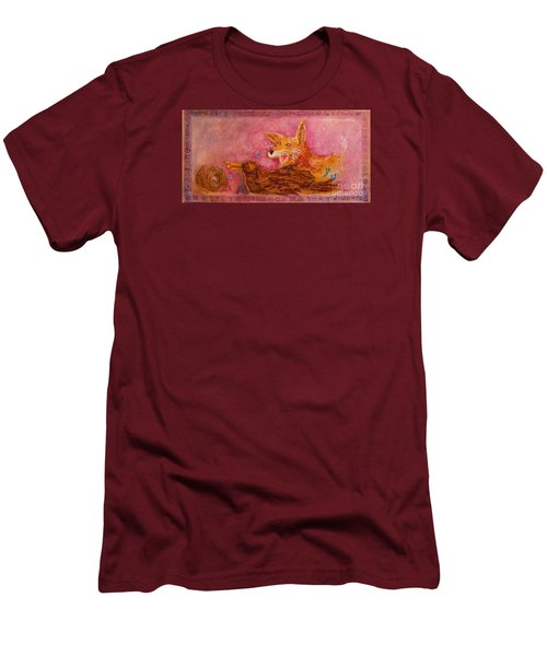 Bre Fox And Bre Crow Men's T-Shirt (Slim Fit)