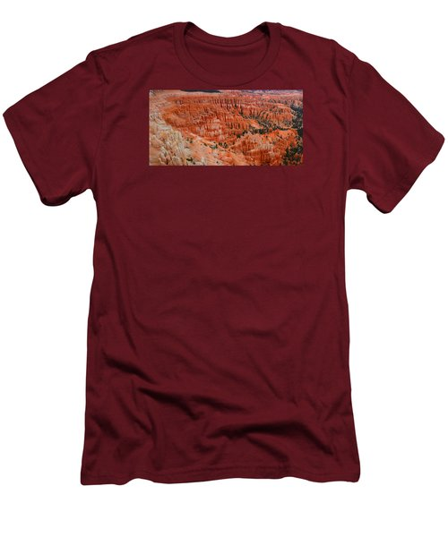Bryce Canyon Megapixels Men's T-Shirt (Slim Fit) by Raymond Salani III