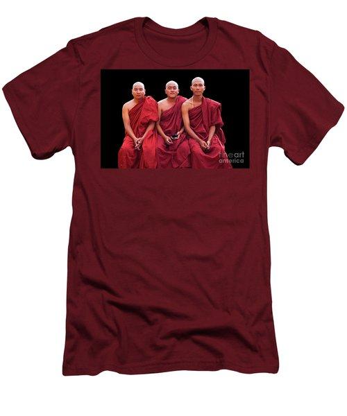 Burma_d1610 Men's T-Shirt (Slim Fit) by Craig Lovell