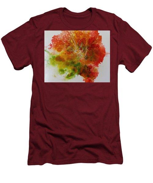 Burst Of Nature Men's T-Shirt (Slim Fit) by Carolyn Rosenberger