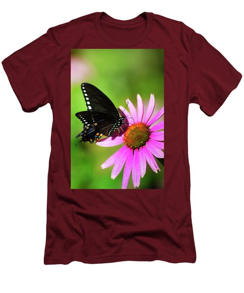 Butterfly In The Sun Men's T-Shirt (Athletic Fit)