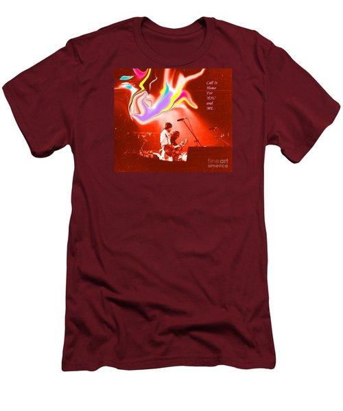 Grateful Dead - Call It Home For You And Me - Grateful Dead Men's T-Shirt (Slim Fit) by Susan Carella