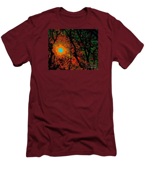 Campfire Sparks Men's T-Shirt (Slim Fit) by Jesse Ciazza