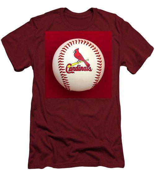 Cardinals Men's T-Shirt (Slim Fit) by Steve Stuller