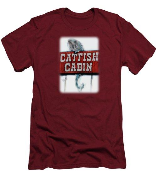 Catfish Cabin  Men's T-Shirt (Athletic Fit)