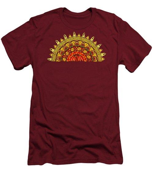 Celtic Dawn Men's T-Shirt (Slim Fit) by Kristen Fox