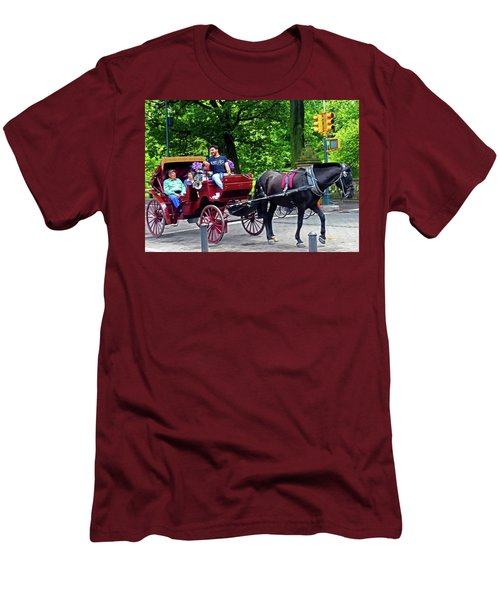 Central Park 5 Men's T-Shirt (Athletic Fit)