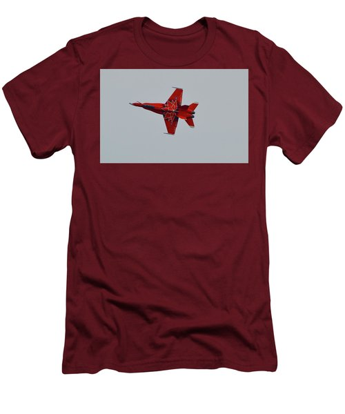 Cf-18 Demonstration For Canada 150  Men's T-Shirt (Athletic Fit)