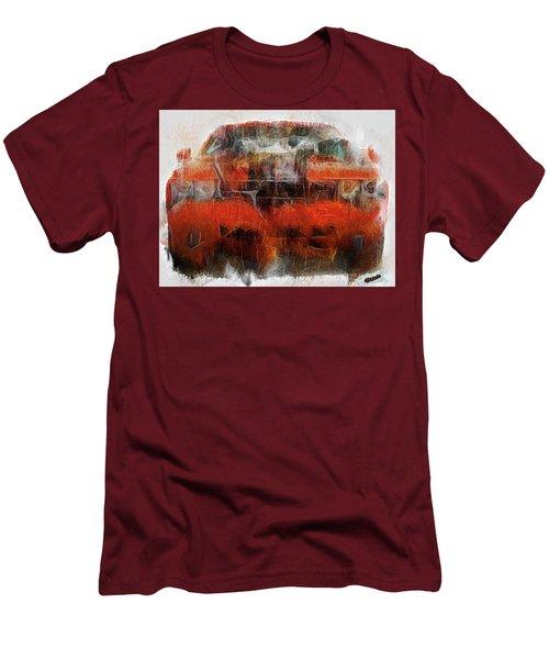 Challenger Wash Men's T-Shirt (Slim Fit) by Michael Cleere