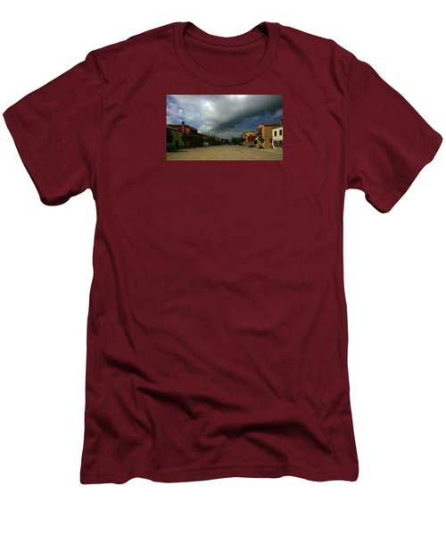 Men's T-Shirt (Athletic Fit) featuring the photograph Change In The Weather by Anne Kotan