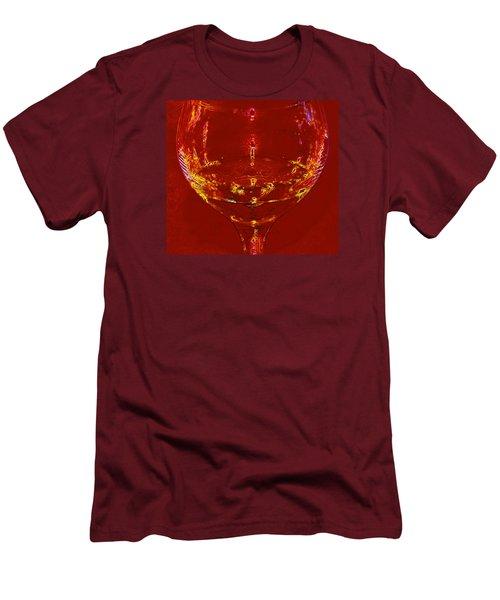Chardonnay Men's T-Shirt (Slim Fit) by John Stuart Webbstock