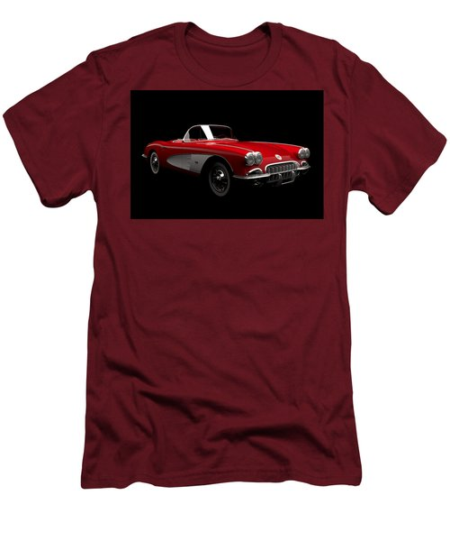 Chevrolet Corvette C1 Men's T-Shirt (Athletic Fit)