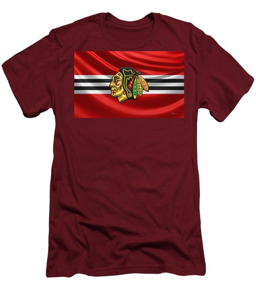 Chicago Blackhawks Men's T-Shirt (Athletic Fit)