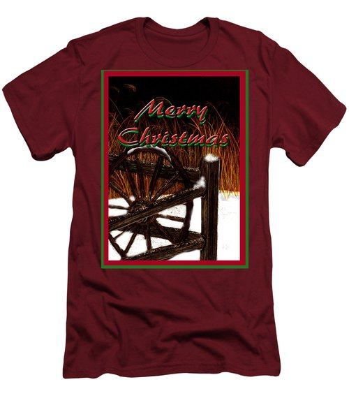 Christmas Country Men's T-Shirt (Athletic Fit)