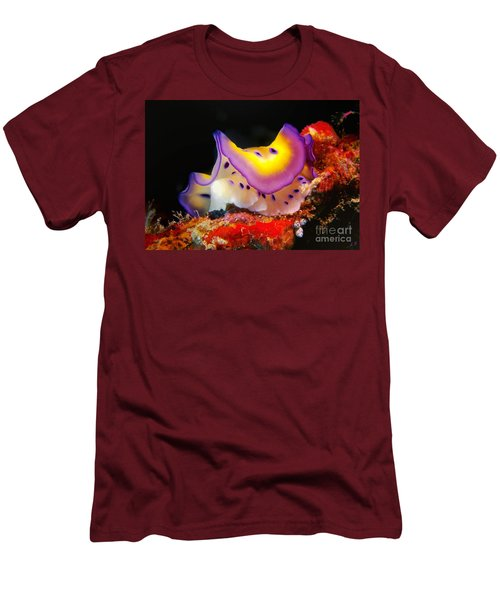 Chromodoris Kunei Nudibranch  Men's T-Shirt (Athletic Fit)