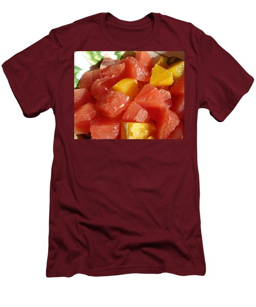 Citrus In Winter Men's T-Shirt (Slim Fit) by Jana Russon
