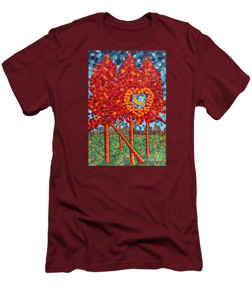 City Moonshine Men's T-Shirt (Slim Fit) by Holly Carmichael