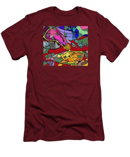 Cityplan#2 Men's T-Shirt (Athletic Fit)