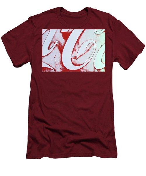 Coke 3 Men's T-Shirt (Slim Fit) by Laurie Stewart