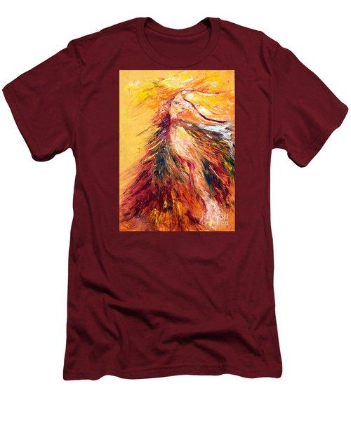 Color Dance Men's T-Shirt (Slim Fit) by Marat Essex