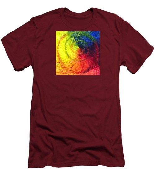 Color Men's T-Shirt (Slim Fit) by Jeanette Jarmon