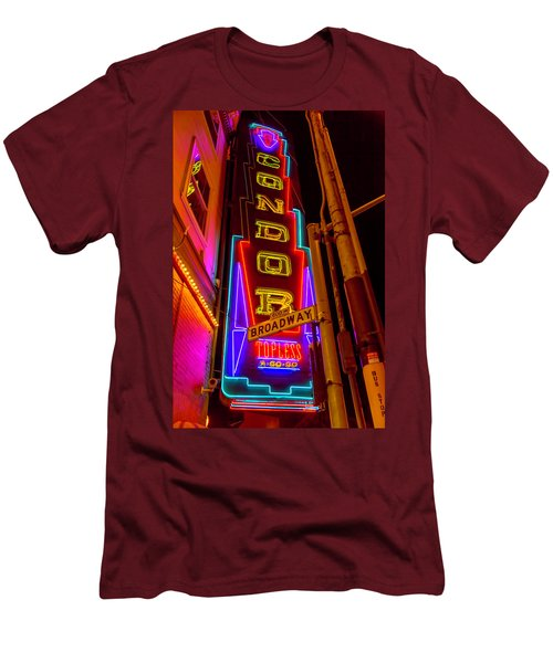 Condor Neon On Broadway Men's T-Shirt (Athletic Fit)