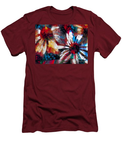Cone Flower Fantasia I Men's T-Shirt (Slim Fit) by Jack Torcello