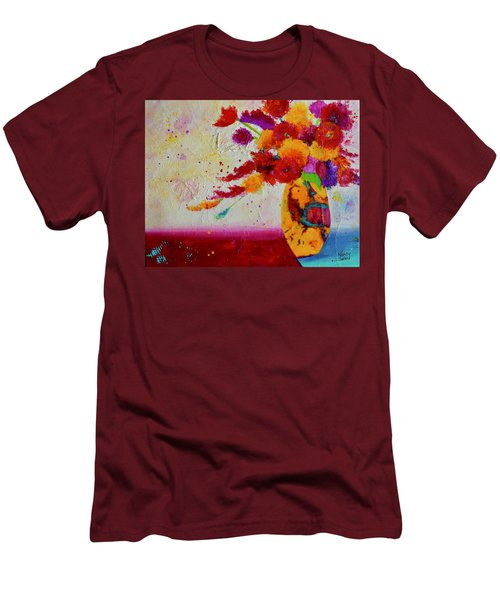 Confetti Men's T-Shirt (Athletic Fit)