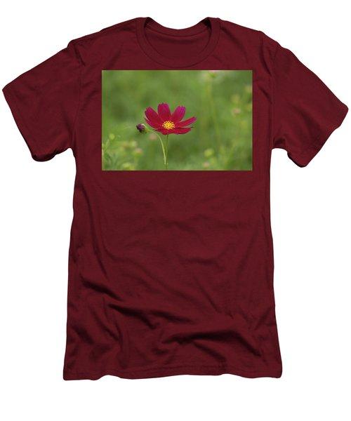 Cosmos Men's T-Shirt (Slim Fit) by Hyuntae Kim