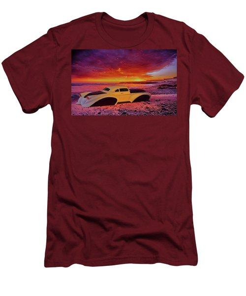 Custom Lead Sled Men's T-Shirt (Slim Fit) by Louis Ferreira