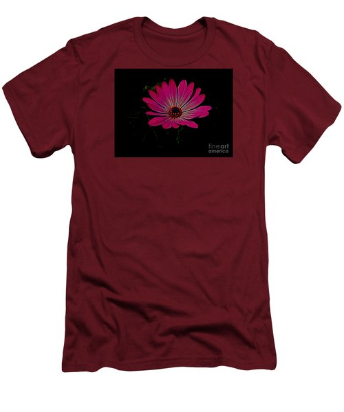 Daisy Flower Men's T-Shirt (Slim Fit) by Suzanne Handel