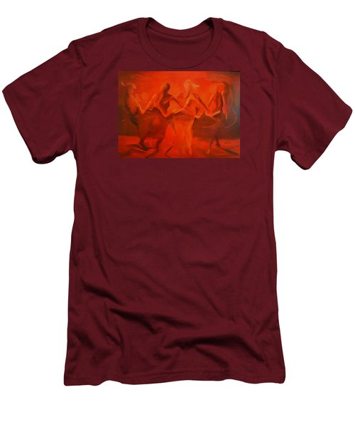 Dancing In The Gloaming Men's T-Shirt (Slim Fit) by Georg Douglas
