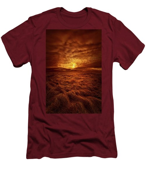 Men's T-Shirt (Slim Fit) featuring the photograph Dare I Hope by Phil Koch