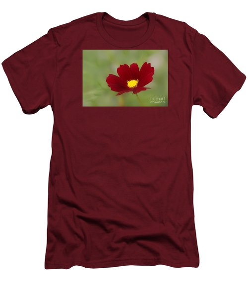 Deep In Red Men's T-Shirt (Slim Fit) by Yumi Johnson