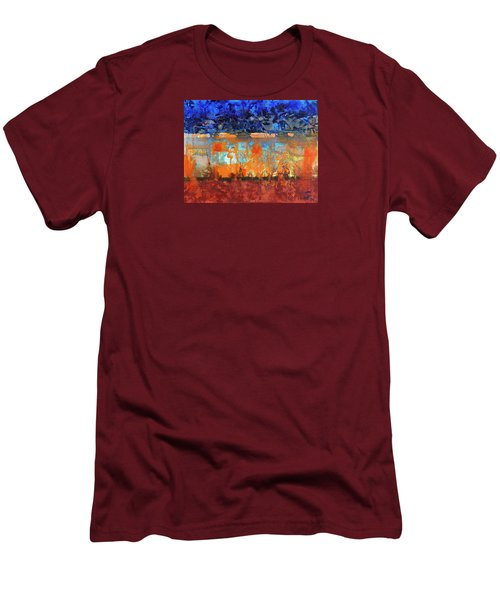 Desert Strata Men's T-Shirt (Slim Fit)