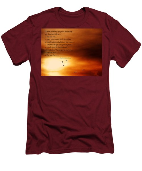 Do Not Weep Men's T-Shirt (Slim Fit)