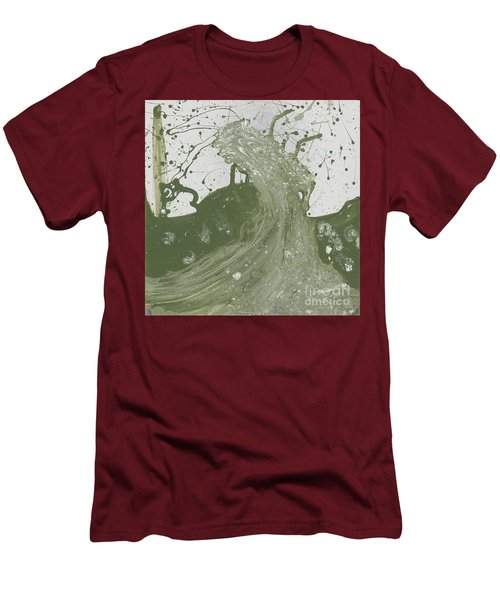 Double Up Wave Men's T-Shirt (Slim Fit) by Talisa Hartley