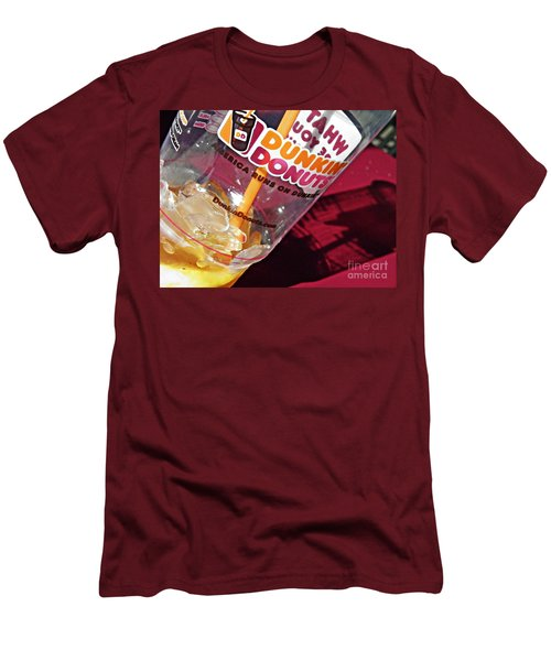 Dunkin Ice Coffee 29 Men's T-Shirt (Athletic Fit)