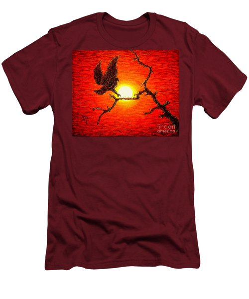 Eagle B2 Men's T-Shirt (Athletic Fit)
