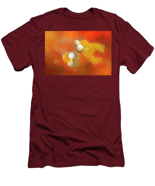 Men's T-Shirt (Slim Fit) featuring the photograph Eggs by Carolyn Marshall