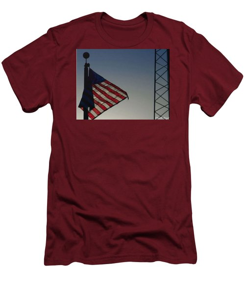 Electric Flag Men's T-Shirt (Athletic Fit)