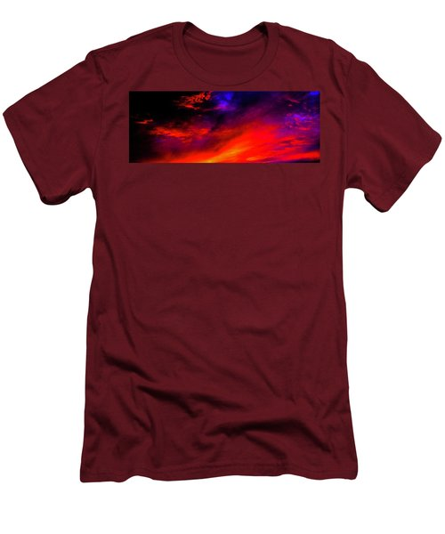 End Of Day Men's T-Shirt (Slim Fit) by Michael Nowotny